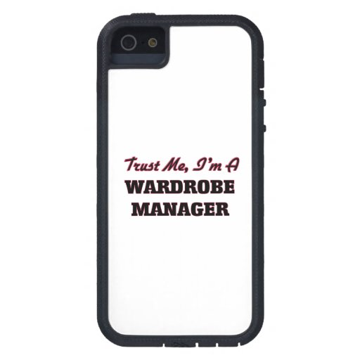 Trust me I'm a Wardrobe Manager iPhone 5 Cases