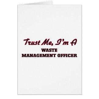 Trust me I'm a Waste Management Officer Cards