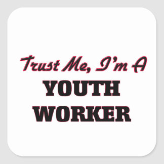 Trust me I'm a Youth Worker Stickers