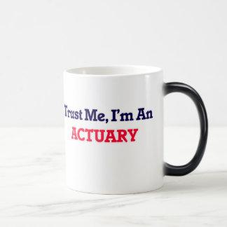Trust me, I'm an Actuary Magic Mug