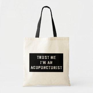 Trust Me I'm An Acupuncturist Tote Bag
