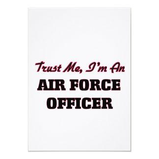 Trust me I'm an Air Force Officer Custom Invite