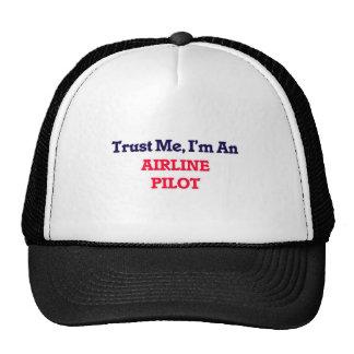 Trust me, I'm an Airline Pilot Cap