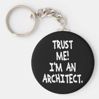 TRUST ME I'M AN ARCHITECT KEY RING