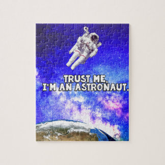 Trust Me I'm an Astronaut Jigsaw Puzzle