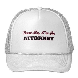 Trust me I'm an Attorney Trucker Hat