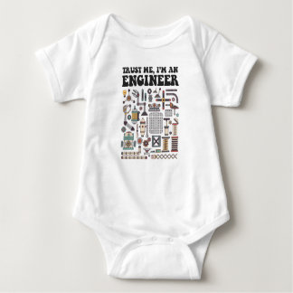 Trust me, I'm an engineer Baby Bodysuit
