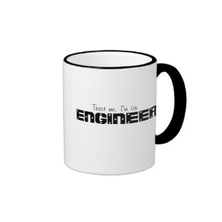 Trust Me I'm An Engineer Ringer Mug