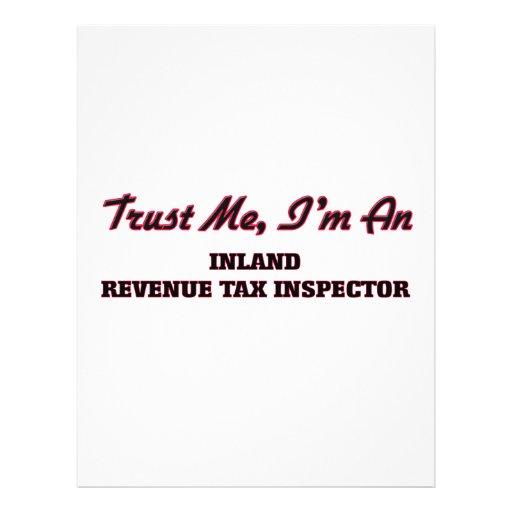 Trust me I'm an Inland Revenue Tax Inspector Custom Flyer