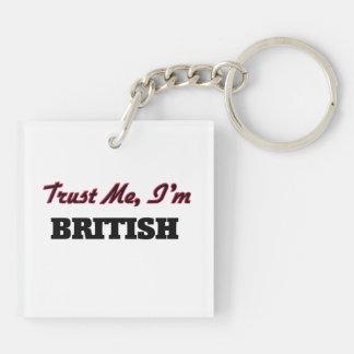 Trust me I'm British Acrylic Keychains