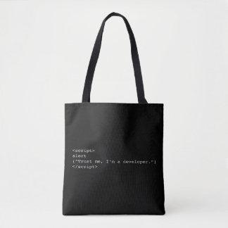 Trust me, I'm developer Tote Bag