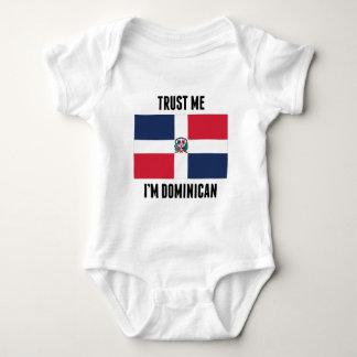 Trust Me I'm Dominican Baby Bodysuit