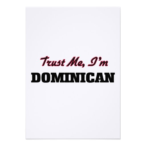 Trust me I'm Dominican Cards