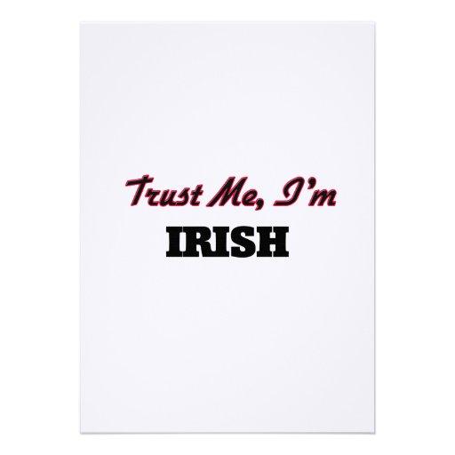 Trust me I'm Irish Card