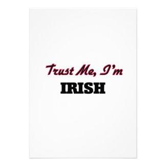Trust me I'm Irish Custom Announcements