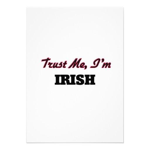 Trust me I'm Irish Invites