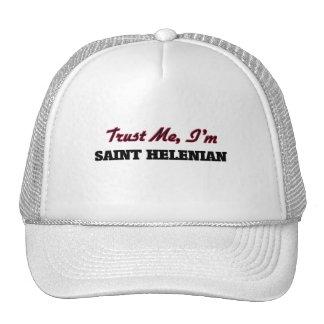 Trust me I'm Saint Helenian Trucker Hat