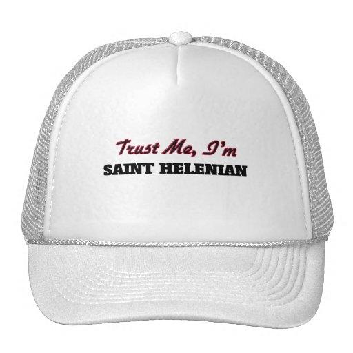 Trust me I'm Saint Helenian Hat