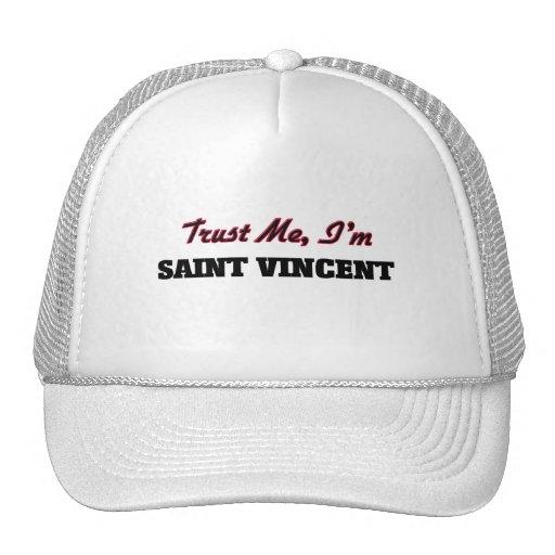 Trust me I'm Saint Vincent Mesh Hat