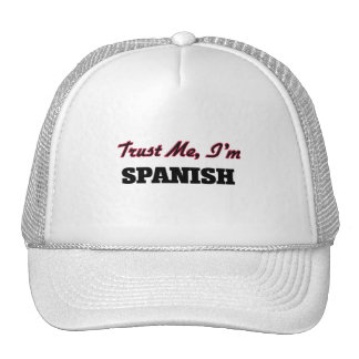 Trust me I'm Spanish Mesh Hats