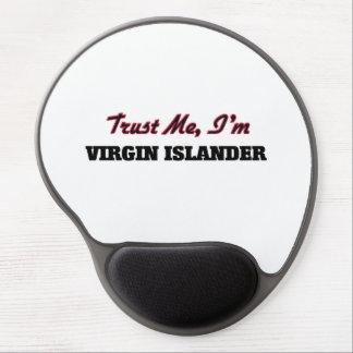 Trust me I'm Virgin Islander Gel Mouse Mats