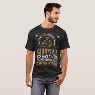 Trust ME I'ma Boilermaker Welder T-Shirt