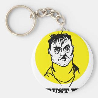 Trust me key ring