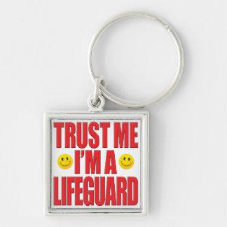 Trust Me Lifeguard Life Key Ring