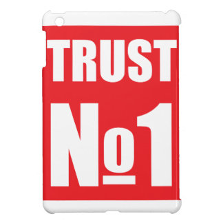 Trust no one iPad mini covers