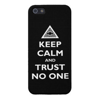 Trust no One iPhone 5 Covers