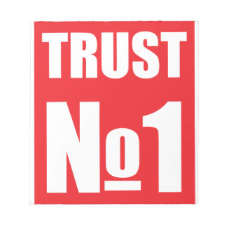 Trust no one notepad