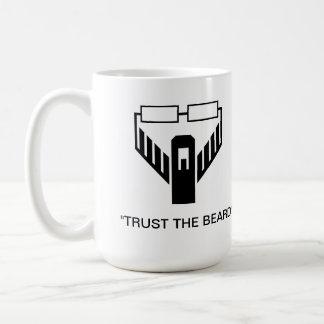 """Trust The Beard"" Logo Mug"