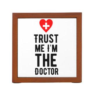 Trust the Doctor Desk Organiser