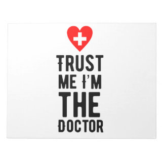 Trust the Doctor Notepad