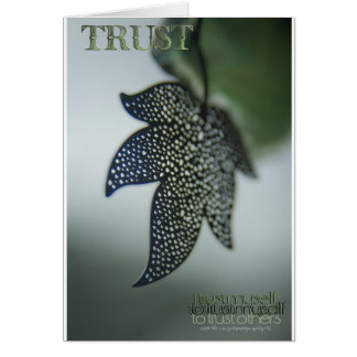 Trust To Trust © Vicki Ferrari Photography Greeting Card