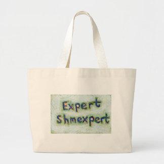 Trust yourself you are the expert you need fun art jumbo tote bag