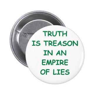 truth 6 cm round badge