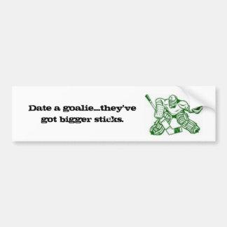 Truth about Goalies Bumper Sticker