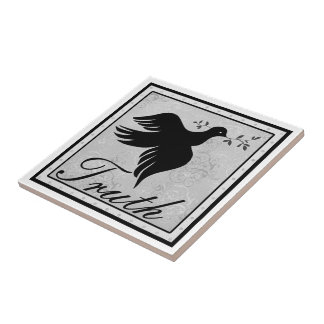 Truth and Dove Small Square Tile