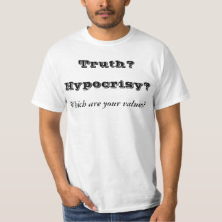Truth and Integrity T-Shirt