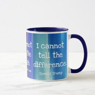 Truth and Lies Colorful Mug
