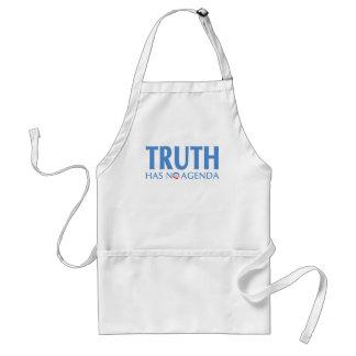Truth Has No Agenda Standard Apron