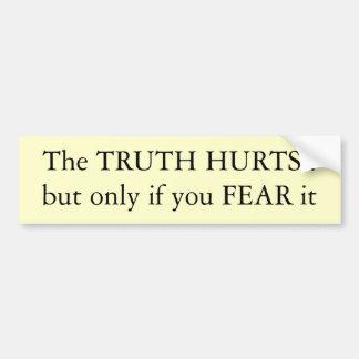 Truth Hurts Car Bumper Sticker