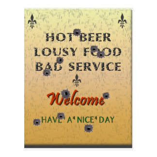 Truth in Advertising Postcard