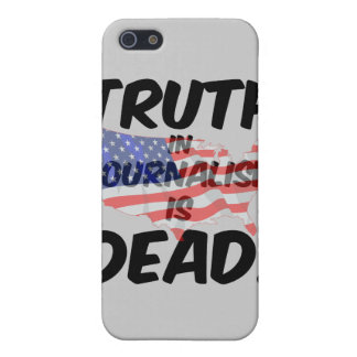 truth in journalism is dead iPhone 5/5S case