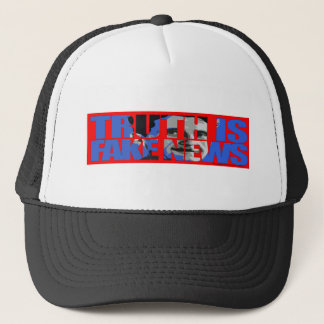 Truth Is Fake News Trucker Hat