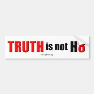 Truth is not Hate Bumper Sticker