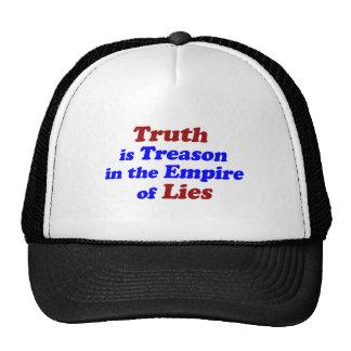 Truth is Treason Hat