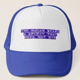 truth, knowledge, wisdom trucker hat