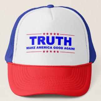 TRUTH - Make America GOOD again! HAT